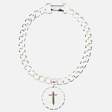 Rainbow Cross Bracelet
