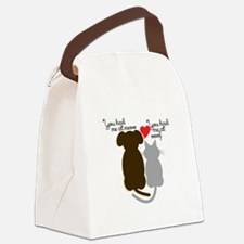Meow Wolf Canvas Lunch Bag
