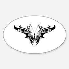 BUTTERFLY 47 Oval Decal
