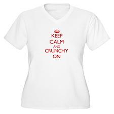 Crunchy Plus Size T-Shirt