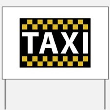 Taxi Yard Sign