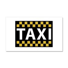 Taxi Car Magnet 20 x 12
