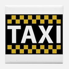 Taxi Tile Coaster