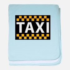 Taxi baby blanket