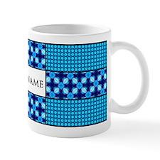 Personalized Name Tile Pattern Small Mug
