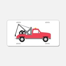 Tow Truck Aluminum License Plate