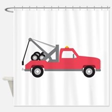 Tow Truck Shower Curtain
