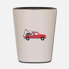 Tow Truck Shot Glass