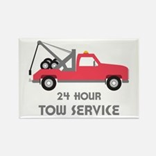 24 Hour Tow Service Magnets