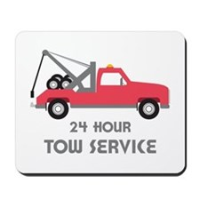 24 Hour Tow Service Mousepad
