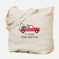 24 Hour Tow Service Tote Bag