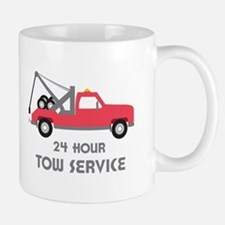 24 Hour Tow Service Mugs