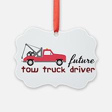 Future Tow Truck Dreiver Ornament