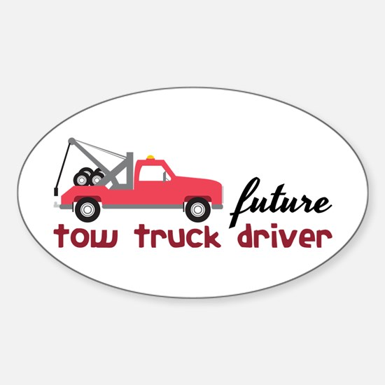 Future Tow Truck Dreiver Decal