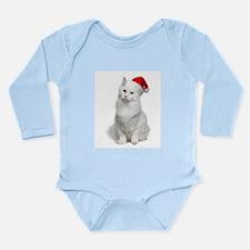 Angora Santa Cat Body Suit