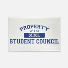 Property Of The Student Council XXL Rectangle Magn