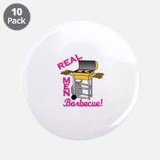 """Real Men 3.5"""" Button (10 pack)"""