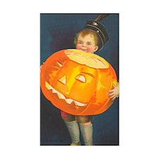 TLK008 Pumpkin Boy Rectangle Decal