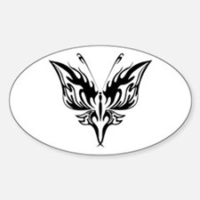 BUTTERFLY 71 Oval Decal