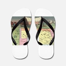 nevada territory Flip Flops