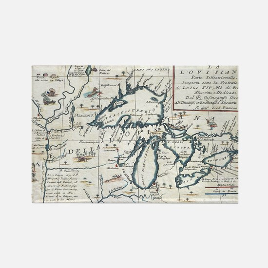Great Lakes Magnets  Great Lakes Refrigerator Magnets  CafePress