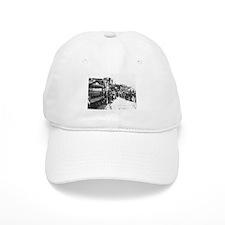 old west trains Baseball Baseball Cap