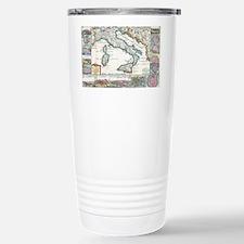 Vintage Map of Italy (1 Travel Mug