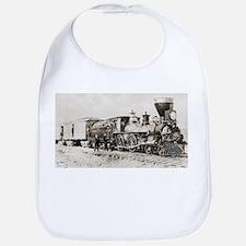old west trains Bib