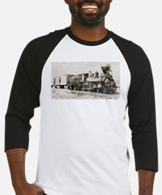 old west trains Baseball Jersey