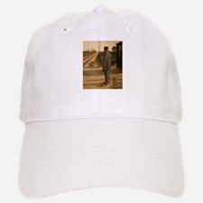 old west trains Baseball Cap
