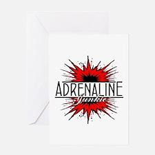 Adrenaline Junkie Greeting Card