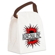 Adrenaline Junkie Canvas Lunch Bag
