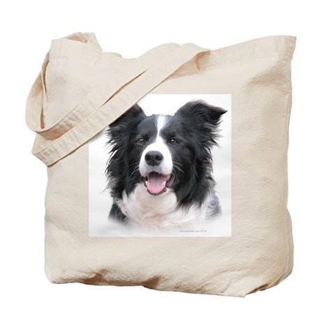 Border Collie Head Study Female Tote Bag