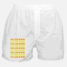 Niles, Ohio Boxer Shorts