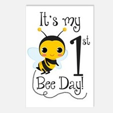 It's my Bee Day Postcards (Package of 8)