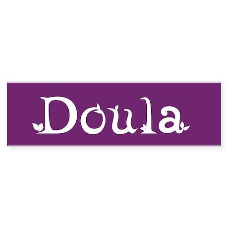 Doula Bumper Sticker