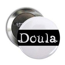 Doula Black Button