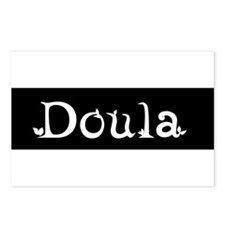 Doula Black Postcards (Package of 8)