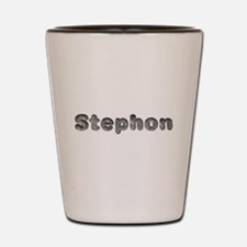 Stephon Wolf Shot Glass