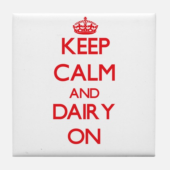 Dairy Tile Coaster