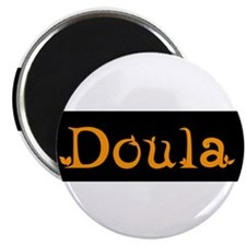 "Doula Orange 2.25"" Magnet (10 pack)"