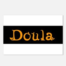 Doula Orange Postcards (Package of 8)