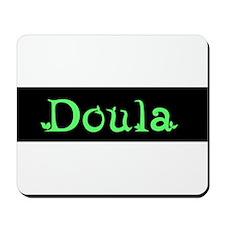 Doula Green Mousepad