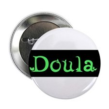 "Doula Green 2.25"" Button (10 pack)"