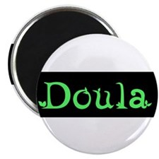 "Doula Green 2.25"" Magnet (10 pack)"