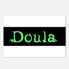 Doula Green Postcards (Package of 8)