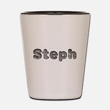 Steph Wolf Shot Glass