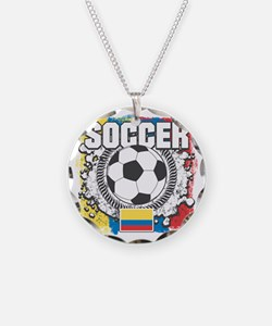 Columbia Soccer Necklace