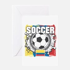 Columbia Soccer Greeting Card