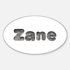 Zane Wolf Oval Decal
